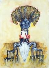 treeoftartariwatercolour